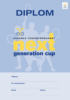 SvTF Next Generation Cup-diplom